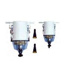 Complete brandstof filter met steun