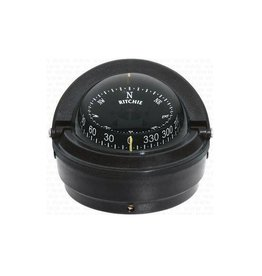Ritchie Compass for power boats up to 30 feet black/white (Ritchie F-87)