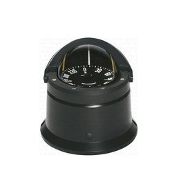 Ritchie Compass for power boats up to 30 feet, black/white (Ritchie F-84)