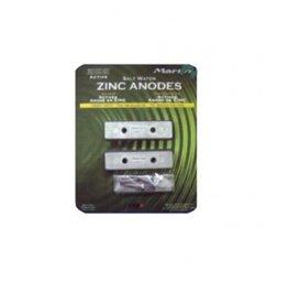 Martyr Trimvlak anode kit zink/aluminium