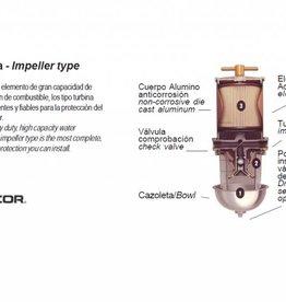 Diesel filters Racor (impeller type)