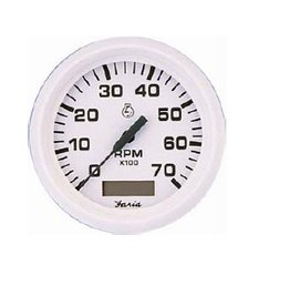 Tachometer + Hour counter inboard / outboard and diesel
