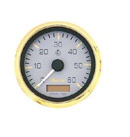 Tachometer + hour counter inboard / diesel