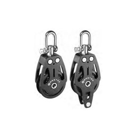 Master Aluminum pulley with disc 72 mm