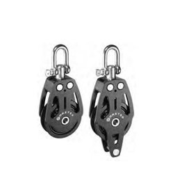Master Aluminum pulley with disc 90 mm