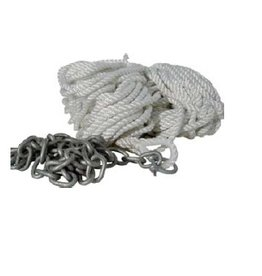 Golden Ship Anchor rope with chain thickness 8/10/12 mm + 30 or 50 meters long