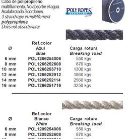 3 strengs touw zeer licht per meter