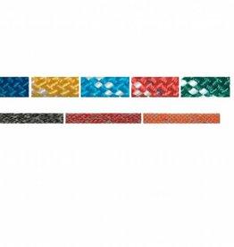 Gekleurd dubbel gevlochten touw 32 strengs, per meter