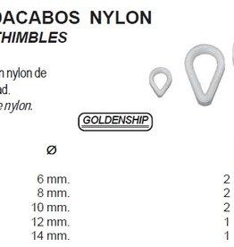 Nylon thimbles 6 tot 14 mm