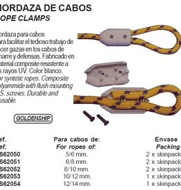 Golden Ship Rope clamps 5 to 14 mm