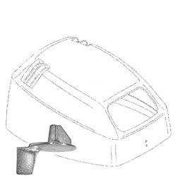 (13) Mercury 8 hp 4-stroke Bodensee (Big Foot) Maintenance kit