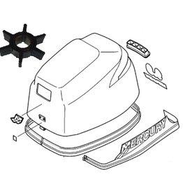 Mercury 8 en 9,9 pk 4-takt (209cc) (Geen bigfoot) Onderhoud kit