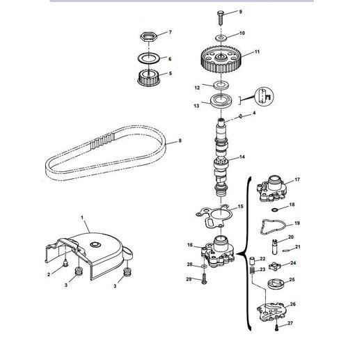 Yamaha / Parsun Outboard Engine F20A (F15A) BM (FW) Camshaft Parts