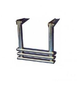 Telescopische Platformladder 2 of 3 staps
