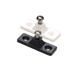 Side mount deck hinge