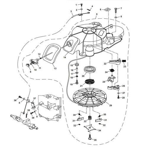 Parsun Buitenboordmotor F40 Starter Assy Onderdelen