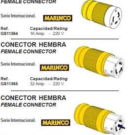 Golden Ship Female connectors 16-63 amp