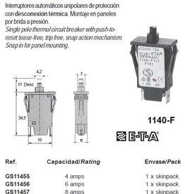 1140-F THERMAL CIRCUIT BREAKER 4-16amp