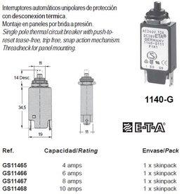 1140-G THERMAL CIRCUIT BREAKER 4-16amp