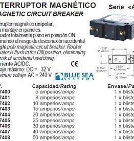MAGNETIC CIRCUIT BREAKER serie A 5-50Amp