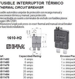 THERMAL CIRCUIT BREAKER 6-30Amp