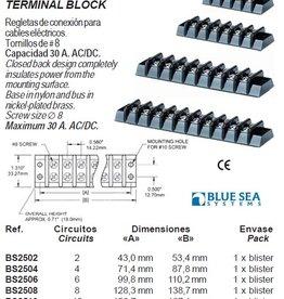 Blue sea systems Terminal ∅ 8 rails / blocks max 30 Amp
