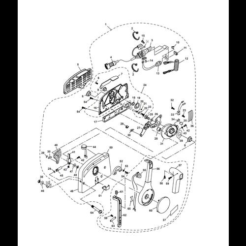 Parsun Buitenboordmotor F40  Control Box Assy Onderdelen