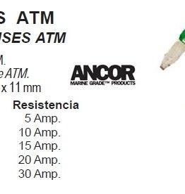 ANCOR Zekering ATM 11x 11mm per 2 stuks