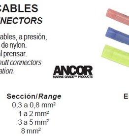Kabel connectors knijp stekkertjes p.pack