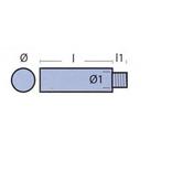 Yanmar anode kit (plug en anode)