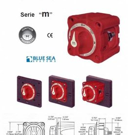 Blue Sea Hoofd schakelaar Batterij/accu mini serie 72 x 72 mm
