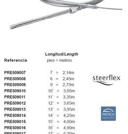 Monokabel 55 pk + / Mega UR – steering cable