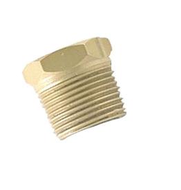 Reserve plug voor koelsysteem anode