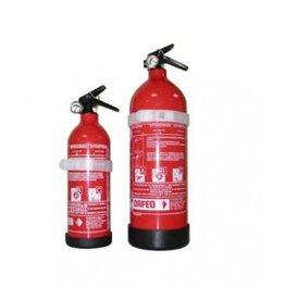 Droge poeder brandblusser 1 of 2 kg