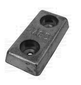 MGDUFF Blok anode zink/aluminium