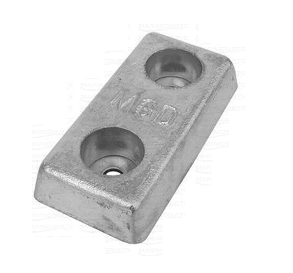 Blok anode zink/aluminium