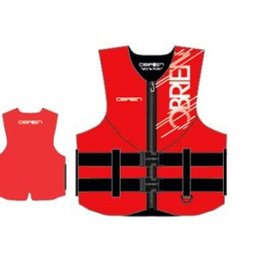 Obrien Traditional Ce Neo Vest Red - Xxl (OB2142227)