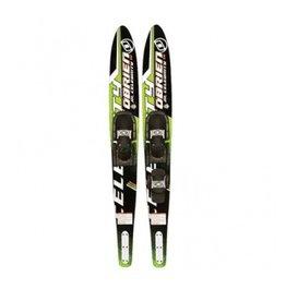 Junior combo water ski's voor beginners en gevorderden