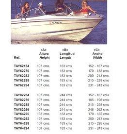 Taylor Made Bimini Weiss 137X264X260Cm (TAY84299)