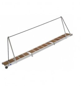 Loopbrug vouwbaar 3 delen 2 m