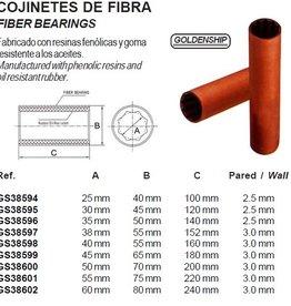 Fiber bearings