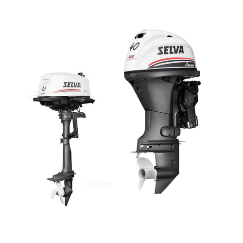 New Selva Outboard Engines 4-stroke