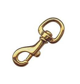 Golden Ship Bronze Snap Hook