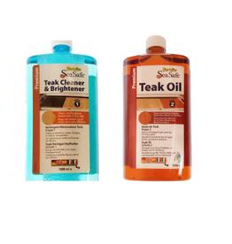Starbrite Teak cleaner and brightener and teak oil
