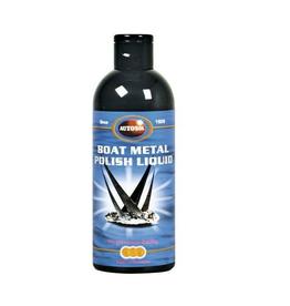 Boat metal polish liquid