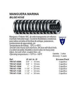 Bilge pomp slang vanaf 16 mm temp. -12 °C tot 60 °C per 1 M