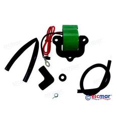 RecMar OMC Ignition Coil 50 HP 71-75, 65 HP 71-75, 70 HP 74-75, 85 HP 73-75, 115 HP 73-74, 135 HP 73-75 (REC0502890)