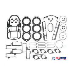 RecMar Powerhead Gasket Set 200/225/250 HP 90° V6 Loopcharged Carb. 94-01 (437725)