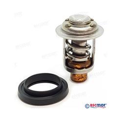 RecMar Johnson Evinrude Thermostaat Kit 5-55 pk, 60 pk 69,70,80-86 150-235 pk (90° V4/V6) (REC13350)
