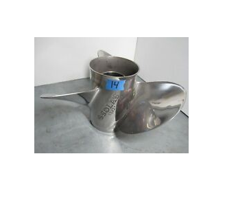 2nd hand Stainless Steel Yamaha / Selva / Tohatsu Propeller 60 to 130 F75 to F115 T50 / T60 15 Tooths (SOL3431-130-21)